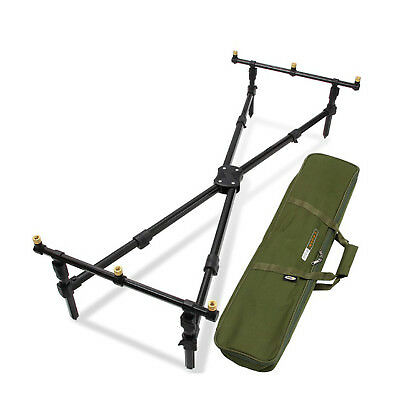 Rod Cross Pod Carp Fishing With Deluxe Fishing Pod With Bag Ngt Tackle