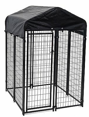 Lucky Dog Uptown Welded Wire Kennel 6'H x4'W x4'L - Model: CL 60544 - Brand New!