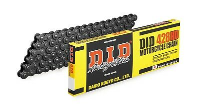 DID Standard 428 Motorcycle ATV Chain 428 x 120 Non O-Ring 428x120 Heavy Duty HD