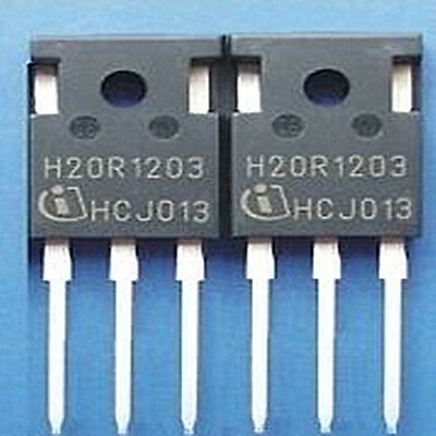 Hot  Sell  5PCS  H20R1203  20R1203  TO-247  Induction  Cooker  IGBT  Power  Tube