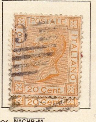 Italy 1877 Early Issue Fine Used 20c. 231344