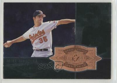 1998 SPx Finite #144 Mike Mussina Baltimore Orioles Baseball Card
