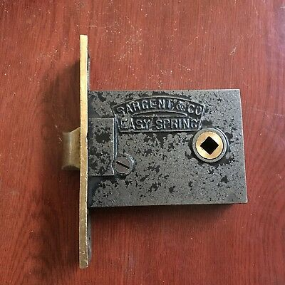 Antique High Quality SARGENT & Co. Easy Spring Mortise Lock/ Latch