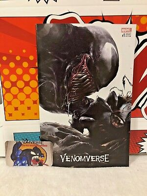 Venomverse #1 Francesco Mattina Nycc Variant Venom Spider-Man 3,000 Made Vf/Nm