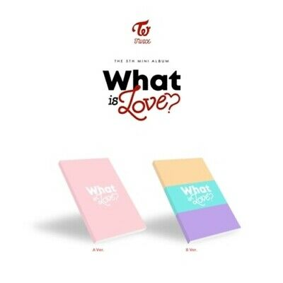 Twice-[What Is Love?]5th Mini Album Random CD+Poster+Book+Card+etc+PreOrder+Gift