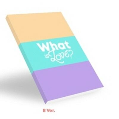 Twice-[What Is Love?]5th Mini Album B Ver CD+Poster+Book+Card+etc+PreOrder+Gift