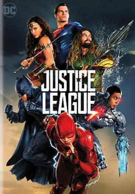 Justice League New Dvd