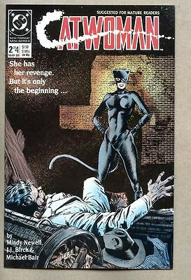 Catwoman #2-1989 nm 1st Catwoman series Batman Year One sequel Mindy Newell
