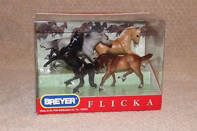2006 Breyer Flicka In The Wild Stablemates Set No 750010 New In Box NRFB