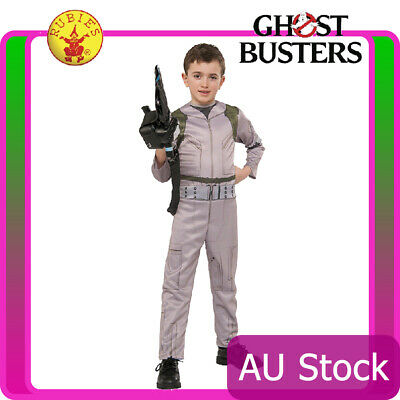 Kids Ghostbusters Costume Ghost Busters Jumpsuit 80s 1980s Child Boys Uniform