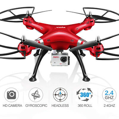 SYMA X8HG 8MP HD Kamera Drohne 1080P Video 6-Axis RC Quadrocopter Headless Hover