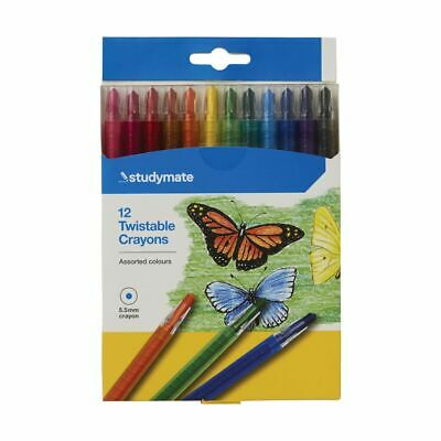 Studymate Twistable Crayons 12 Pack
