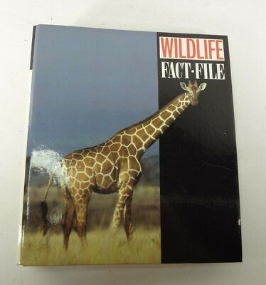 Wildlife Fact File Binder And Lots Of Cards