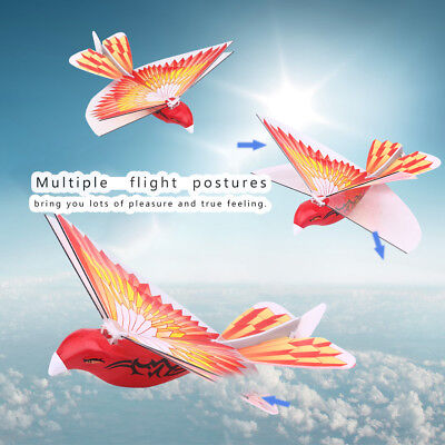 RC Flying Bird LED ABS 2.4GHz Remote Control Pigeon Flying Bird Children Toy