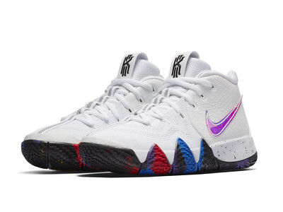the best attitude 412d2 40ddb NIKE KYRIE 4 GS IV NCAA March Madness Multi Kids Youth GS Basketball  AA2897-104