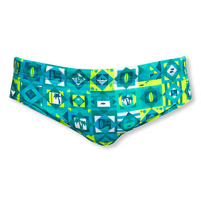 Funky Trunks Badehose Schwimmhose Classic Briefs Lime Light