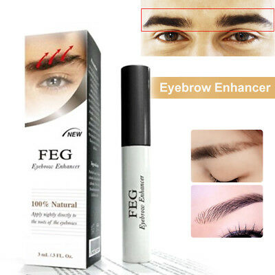 FEG Eyelash Enhancer Eyebrow Eye Lash Rapid Growth Serum Liquid 3ml Eyes Makeup