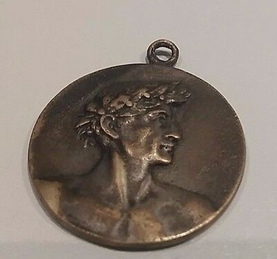 1937 BULGARIA SOCCER FOOTBALL FINAL of SCHOOL / COLLEGE COMPETITION BRONZE MEDAL