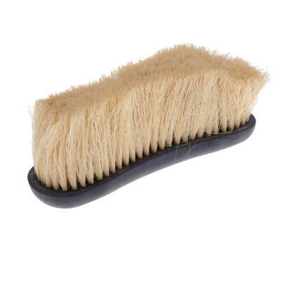 Horse Pony Finishing Brush Mane and Tail Comb Equestrian Grooming Tool Black