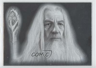 2006 Topps Lord of the Rings Masterpieces Art Cards #4 Gandalf Card 0f3