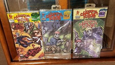 insane clown posse tower records comic book issue 1 2 set