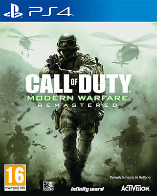 Call Of Duty Modern Warfare Remastered PS4 Playstation 4 ACTIVISION BLIZZARD