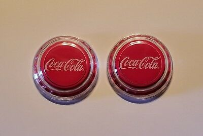 2018 Fiji Coca-Cola Bottle Cap-Shaped 6g Silver Proof $1 Coin *LOT OF 2 COINS *