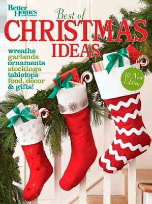 Best of Christmas Ideas (Better Homes and Gardens) 9781118435205