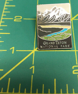 New Traveler Series Pin Grand Teton National Park Wyoming tie tac Lapel Pin