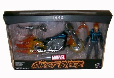 Marvel Legends Series Exclusive Ghost Rider With Motorcycle Action Figure Hasbro