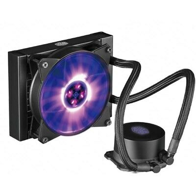 Cooler Master MasterLiquid ML120L RGB 120mm Quiet Liquid CPU Cooler Heatsink Fan
