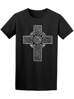 Ancient Traditional Celtic Cross Men's Tee - Image by Shutterstock