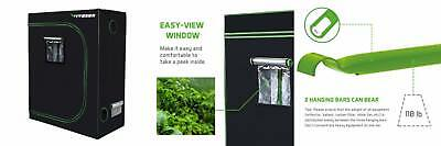 """VIVOSUN Horticulture 48""""x24""""x60"""" Mylar Hydroponic Grow Tent with..."""