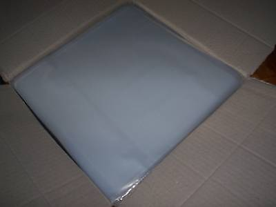 "460 New Lp / 12"" Plastic Outer Clarity Record Cover Sleeves For Vinyl"
