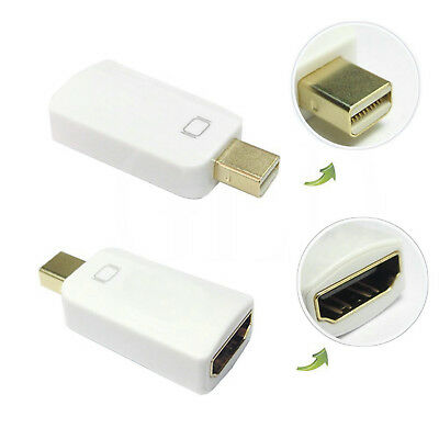 DisplayPort to HDMI Converter HD Audio conversion For laptop Projector LOT BB3.
