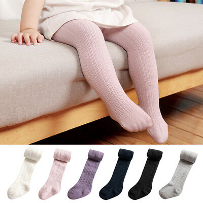 Newborn Baby Infant Girls Toddler Kids Warm Tights Stockings Pantyhose Pants