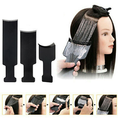 Professional Hairdressing Pick Color Board Hair Dye Color Brush Plate Tint Comb