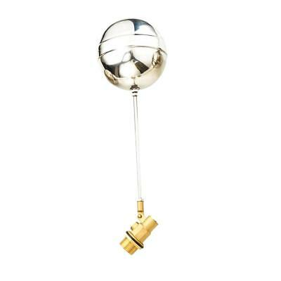 Brass Ball Cock Float Valve & Stainless Float For Water Tank, Aquarium Dn20