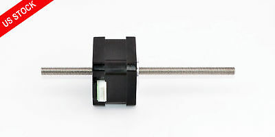 Nema 17 Stepper Motor Linear Actuator Non-captive 0.4A Lead Screw Length 150mm