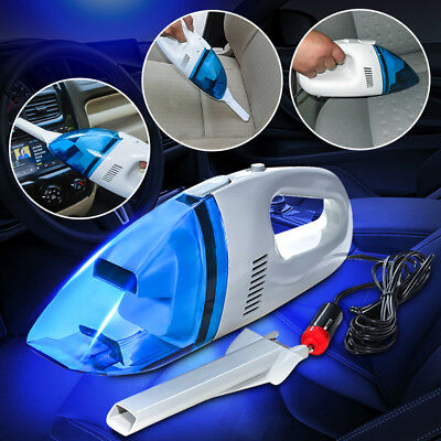 Car Auto Truck Vehicle Portable Handheld High Powered 12V Wet Dry Vacuum Cleaner