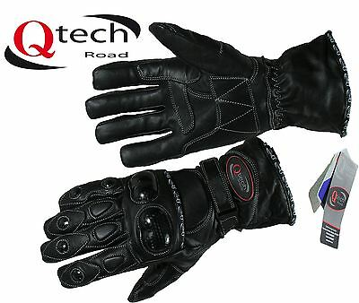 MOTORCYCLE Motorbike Gloves WATERPROOF with HIPORA Breathable layer Thermal