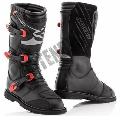 New Acerbis Adventure WATERPROOF Off Road Trail Boots Green Laning Touring Road