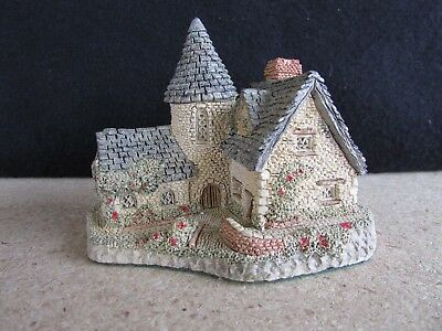 Vintage David Winter Cottages THE VICARAGE 1985 Hand Made in England