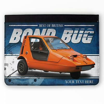 Personalised Bond Bug Car iPad Case Classic Retro Tablet Cover Dad Gift CL03