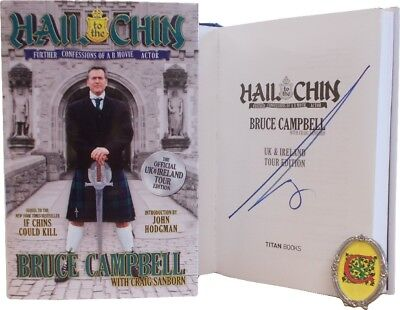 Signed Books - Hail to the Chin by Bruce Campbell