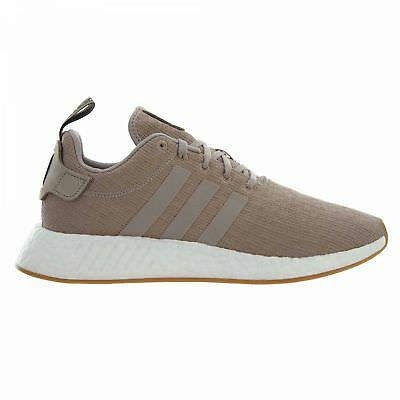 9cfc1650f7214d Adidas Nmd R2 Mens CQ2399 Tech Earth Beige Knit Boost Running Shoes Size  10.5