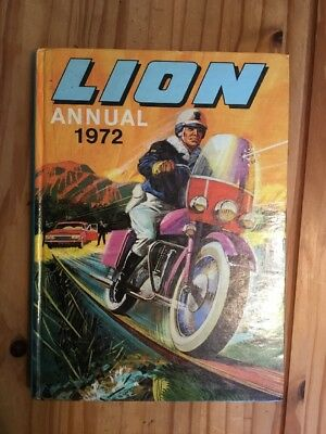 Lion Annual 1972 In Good Condition, Unclipped