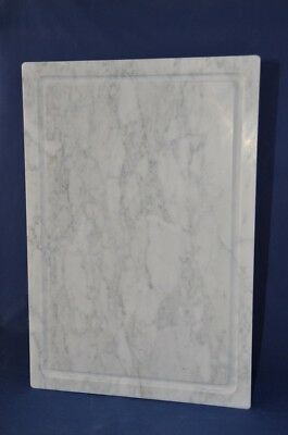 Tagliere marmo bianco di Carrara 60x40 cm. White Carrara marble cutting board