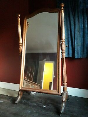 Cheval dressing mirror large