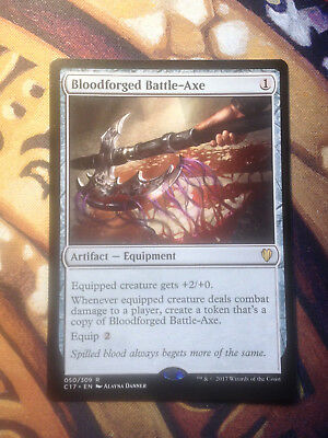 Bloodforged Battle-Axe     Mtg VO  NM